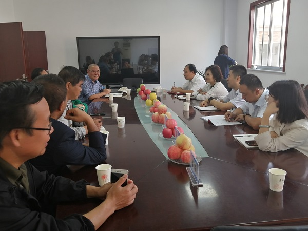 陕国投信托赴西北农林科技大学苹果试验站调研