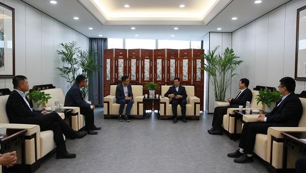陕国投与星展银行(中国)开展业务洽谈